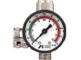 AJR-02S-VG アネスト岩田 ストレートタイプ手元圧力計