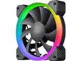 ケースファン[120mm / 1200RPM]+LEDコントローラー VORTEX RGB FCB 120 Cooling Kit CF-V12SET-FCBRGB