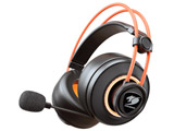 【在庫限り】 CGR-U50MB-710 有線ゲーミングヘッドセット IMMERSA PRO [φ3.5mmミニプラグ+USB /両耳 /ヘッドバンドタイプ]