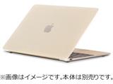 【在庫限り】 MacBook 12インチ用シェルカバー 「moshi iGlaze 12 for MacBook 12」 (Stealth Clear) mo-igz-12cl