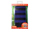 【在庫限り】 3DS LL用 フットボールカバー ブラック×ブルー [CY-3DLFBC-BKBL]