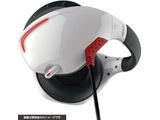 【在庫限り】 PS VR用 マイク付きバックバンドヘッドホン ホワイト×レッド [CY-VRMBHP-WR]