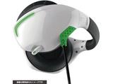 【在庫限り】 PS VR用 マイク付きバックバンドヘッドホン ホワイト×グリーン [CY-VRMBHP-WG]