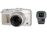 PEN E-P5 17mm F1.8レンズキット (ホワイト) (1605万画素/SDXC)