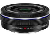 カメラレンズ M.ZUIKO DIGITAL ED 14-42mm F3.5-5.6 EZ【マイクロフォーサーズマウント】(ブラック)