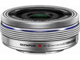 カメラレンズ M.ZUIKO DIGITAL ED 14-42mm F3.5-5.6 EZ【マイクロフォーサーズマウント】(シルバー)
