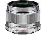 カメラレンズ M.ZUIKO DIGITAL 25mm F1.8【マイクロフォーサーズマウント】(シルバー)