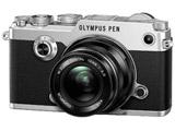 OLYMPUS PEN-F 12mm F2.0レンズキット シルバー [マイクロフォーサーズ] ミラーレス一眼カメラ