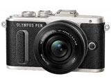 【在庫限り】 PEN E-PL8 14-42mm EZレンズキット(ブラック/ミラーレス一眼カメラ)