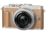 PEN E-PL9 ミラーレス一眼カメラ 14-42mm EZレンズキット ブラウン [ズームレンズ]