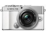 OLYMPUS PEN E-P7 14-42mm EZ レンズキット ミラーレス一眼カメラ  ホワイト  [ズームレンズ]