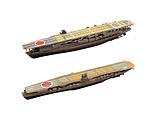 【12月発売予定】 1/2000 アズールレーン 加賀&飛龍 2艦セット (半塗装済みキット) プラモデル