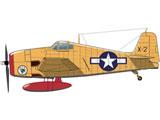 """1/144 アメリカ海軍 F6F-3K ヘルキャット 無人試験試作機/無人特殊作戦機 """"ドローンの黎明"""""""