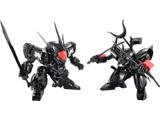PLAMAX MS-04 魔神英雄伝ワタル ブラック 龍神丸・戦神丸 セット