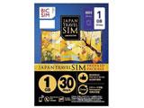BIC SIMジャパントラベルパッケージ 1GBマイクロSIM IMB229 マイクロ