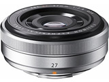 カメラレンズ XF27mmF2.8【FUJIFILM Xマウント】(シルバー)