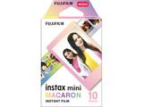 チェキ インスタントカラーフィルム instax mini用フィルム 「マカロン」 1パック(10枚入)