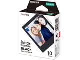 チェキ インスタントカラーフィルム チェキスクエア用フィルム 「instax SQUARE BLACK」 1パック(10枚入)