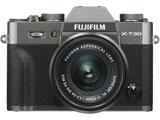 FUJIFILM X-T30【XC15-45mmレンズキット】(チャコールシルバー/ミラーレス一眼カメラ) FX-T30LK-1545-CS