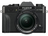 X-T30・XF18-55mmレンズキット ブラック [FUJIFILM Xマウント] ミラーレスカメラ