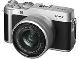 【10/25発売予定】 FUJIFILM X-A7 シルバー XC15-45レンズキット [FUJIFILM Xマウント] ミラーレス一眼カメラ