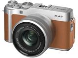 FUJIFILM X-A7 キャメル XC15-45レンズキット [FUJIFILM Xマウント] ミラーレス一眼カメラ