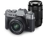 X-T30 ダブルズームレンズキット チャコールシルバー [FUJIFILM Xマウント] ミラーレスカメラ