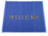 3M 文字入マット WELCOME 青 <KMT1314A>