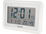 置き時計 フォルミア ホワイト HT-003 [電波自動受信機能有]