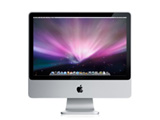 iMac Intel Core2 Duo 2.66GHz/ 20/2048/320G/SuperDrive(DVDアR DL)/AMEx/BT/iSight MB324J/A