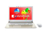 ノートPC dynabook T55/GG PT55GGP-BEA2 サテンゴールド [Win10 Home・Core i3・15.6インチ・Office付き・HDD 1TB・メモリ 4GB]