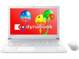 ノートPC dynabook T45/GW PT45GWP-SEA リュクスホワイト [Win10 Home・Celeron・15.6インチ・Office付き・HDD 1TB・メモリ 4GB]
