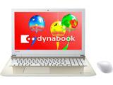 【在庫限り】 ノートPC dynabook T45/GG PT45GGP-SEA サテンゴールド [Celeron・15.6インチ・Office付き・HDD 1TB・メモリ 4GB]
