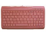 有線キーボード[USB&PS/2] スニムミニサイズ テンキーなし (ピンク) AOK-78PI