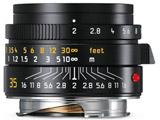 ズミクロンM f2/35mm ASPH. ブラック 11673 [ライカMマウント] 広角レンズ(MFレンズ)