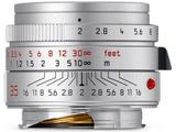 ズミクロンM f2/35mm ASPH. シルバー 11674 [ライカMマウント] 広角レンズ(MFレンズ)