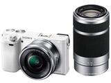 ILCE-6000Y-W ミラーレス一眼カメラ α6000 ホワイト [ズームレンズ+ズームレンズ]