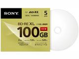 5BNE3VCPS2 録画用BD-RE Sony ホワイト [5枚 /100GB /インクジェットプリンター対応]