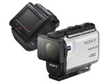 FDR-X3000R アクションカメラ ライブビューリモコンキット [4K対応 /防水+防塵+耐衝撃 /光学式(空間光学方式、アクティブモード搭載)]