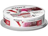 録画用DVD-RW 1-2倍速 20枚 CPRM対応 【インクジェットプリンタ対応】 20DMW12MLPP