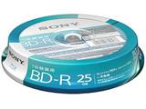 10BNR1VJPP4 録画用BD-R SONY ホワイト [10枚 /25GB /インクジェットプリンター対応]