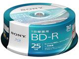 録画用 BD-R Ver.1.2 1-4倍速 25GB 30枚【インクジェットプリンタ対応】 30BNR1VJPP4