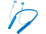 WI-C400 ブルー【リモコン・マイク対応】 ブルートゥースイヤホン カナル型