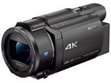 メモリースティック/SD対応 64GBメモリー内蔵 4Kビデオカメラ(ブラック) FDR-AX60