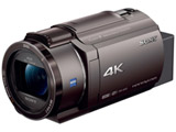 メモリースティック/SD対応 64GBメモリー内蔵 4Kビデオカメラ(ブロンズブラウン) FDR-AX45(TI)