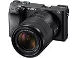 【在庫限り】 α6300 高倍率ズームレンズキット(ブラック/ミラーレス一眼カメラ) ILCE-6300M