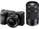 ILCE-6400Y-B ミラーレス一眼カメラ α6400 ブラック [ズームレンズ+ズームレンズ]