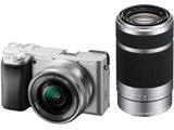 α6400 ダブルズームレンズキット ILCE-6400Y-S シルバー [ソニーEマウント(APS-C)] ミラーレスカメラ