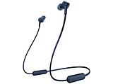 ≪海外仕様≫bluetoothイヤホン カナル型 WI-XB400 L ZE ブルー [リモコン・マイク対応 /ワイヤレス(左右コード) /Bluetooth]