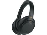 ブルートゥースヘッドホン  ブラック WH-1000XM4BM [リモコン・マイク対応 /Bluetooth /ハイレゾ対応 /ノイズキャンセリング対応]